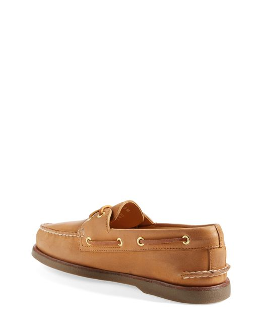 Sperry Top-Sider Brown 'gold Cup - Authentic Original' Boat Shoe for men