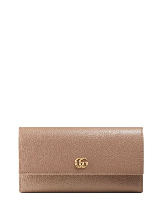 Gucci Multicolor Marmont Leather Continental Wallet