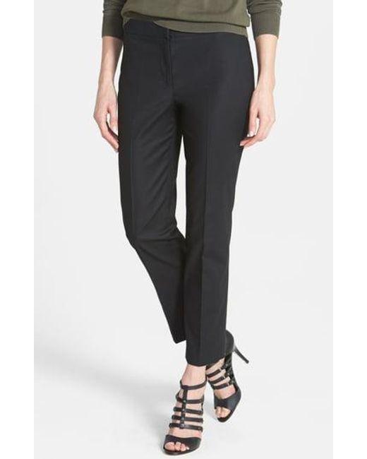 NIC+ZOE Black 'perfect' Ankle Pants