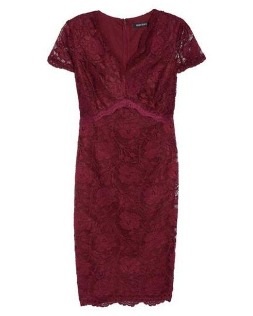 Ellen Tracy | Blue Lace Sheath Dress | Lyst