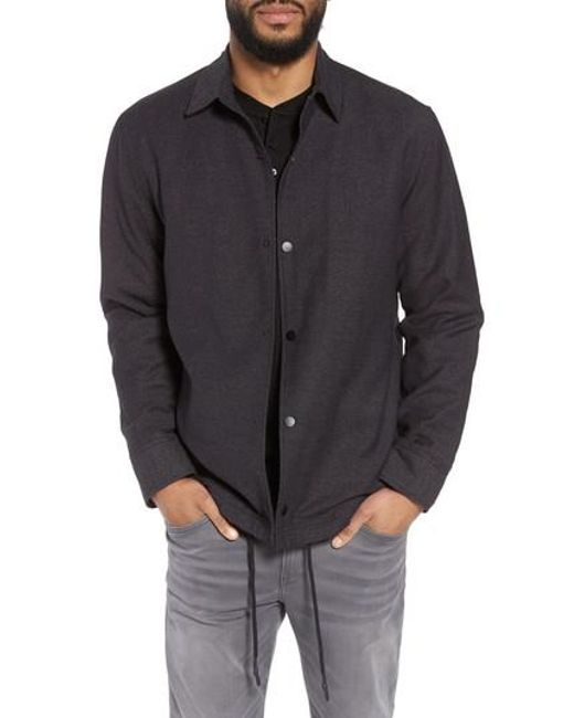 Calibrate - Black Coach's Jacket for Men - Lyst