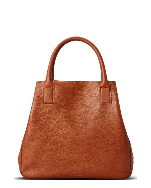 Shinola - Brown Runwell Pebbled Leather Tote - Lyst