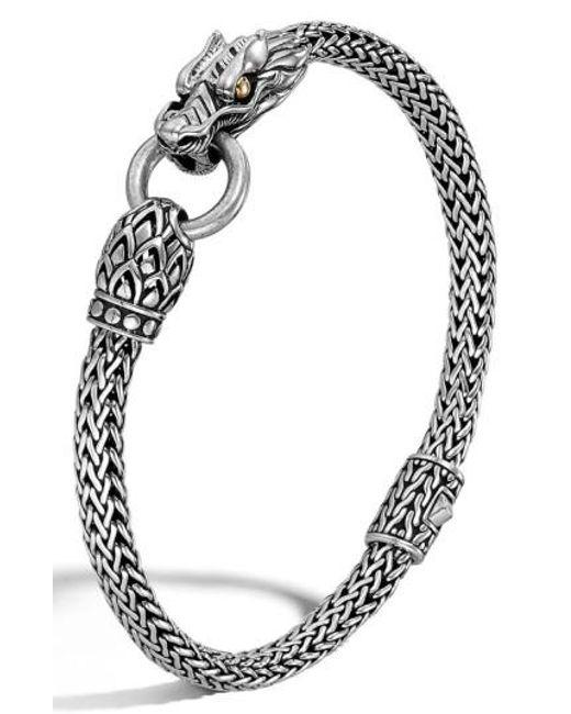 John Hardy - Metallic 'legends' Dragon Bracelet - Lyst