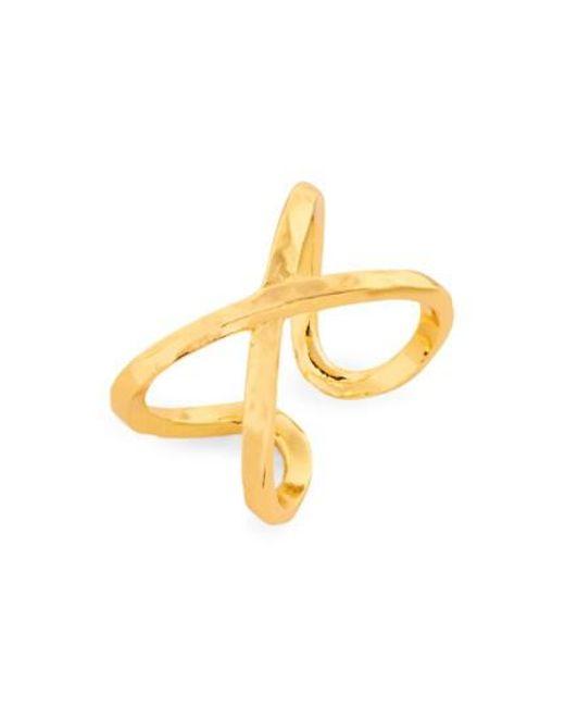 Gorjana   Metallic 'elea' Ring   Lyst