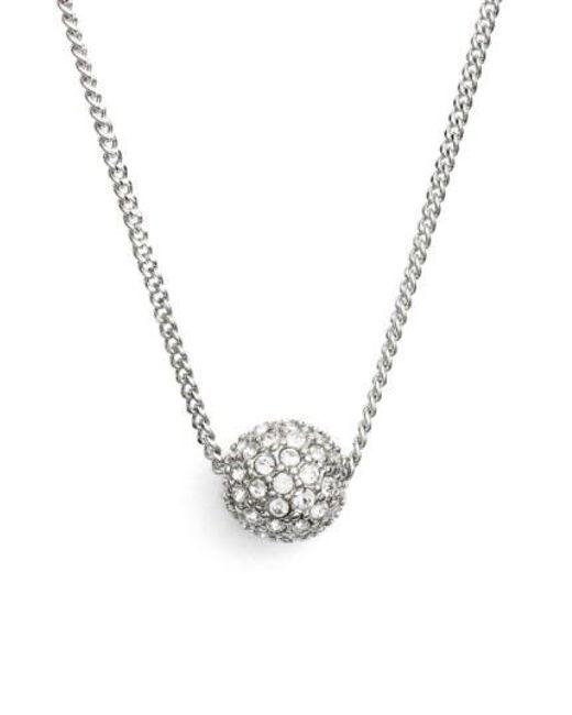 Givenchy - Metallic 'fireball' Pendant Necklace - Lyst