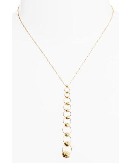 Argento Vivo   Metallic Y-necklace   Lyst