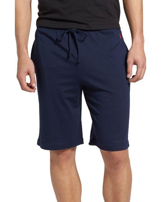 Polo Ralph Lauren Black Sleep Shorts for men