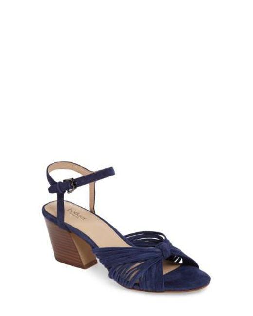 Botkier   Blue Patsy Block Heel Sandal   Lyst