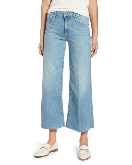 wide leg jeans - Blue Mother 9Uriv8m5z