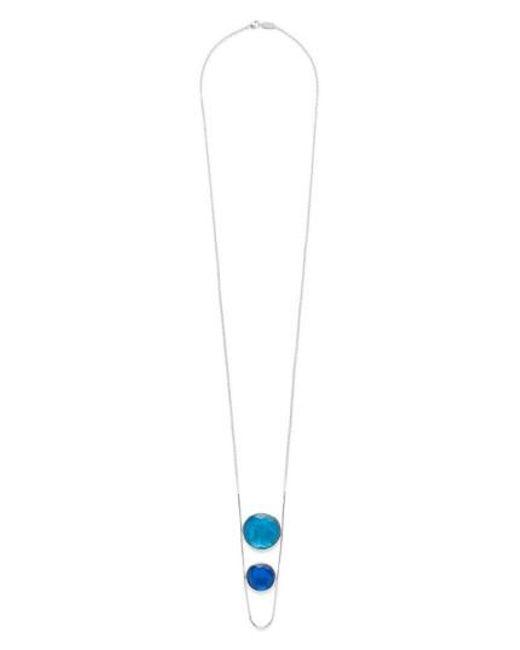 Ippolita | Blue Wonderland Pendant Necklace | Lyst