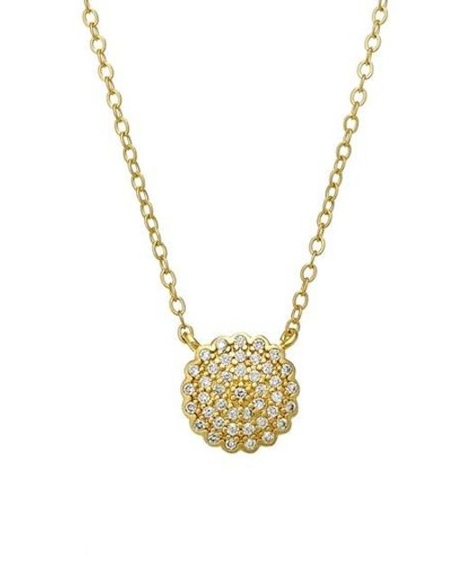 Freida Rothman | Metallic 'the Standards' Pave Pendant Necklace | Lyst