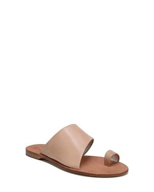 Diane von Furstenberg Women's Brittany Asymmetrical Flat Sandal sK1by6QOM