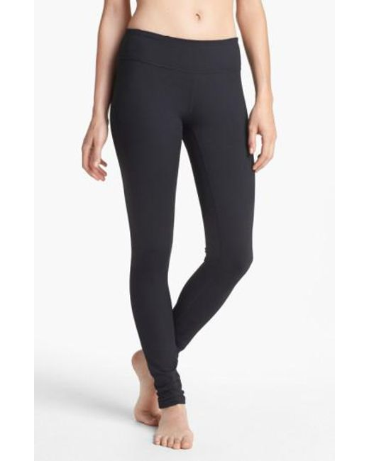 Zella | Black Live In Slim Fit Leggings | Lyst