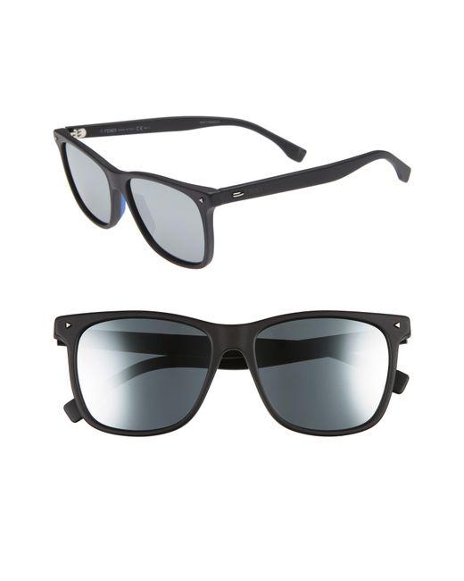 Fendi - Gray 55mm Polarized Sunglasses - for Men - Lyst