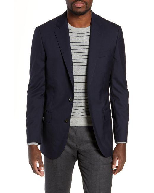 J.Crew - Black Ludlow Trim Fit Solid Wool Blazer for Men - Lyst