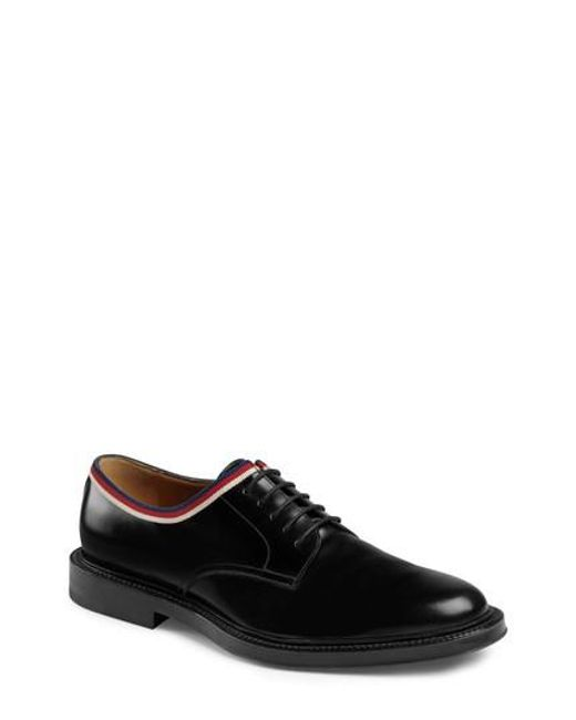 Gucci Men's Beyond Brb Band Laced Derby 24VcDt985y