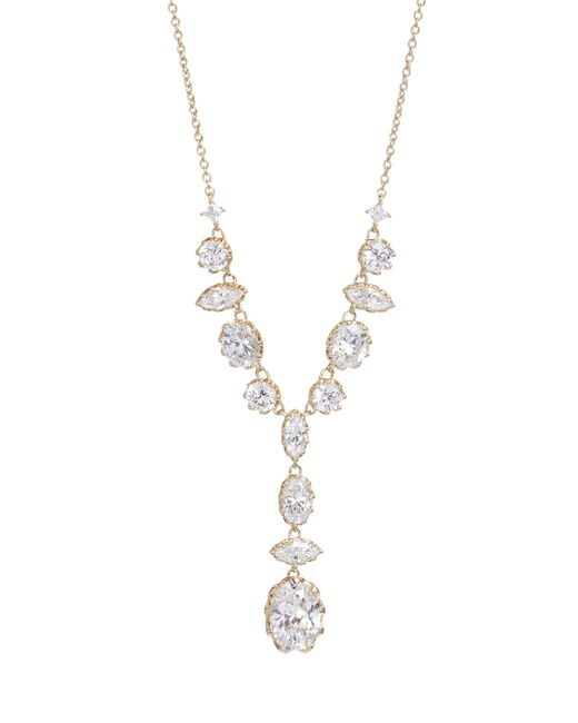 Nadri - Metallic Georgian Crystal Y-necklace - Lyst