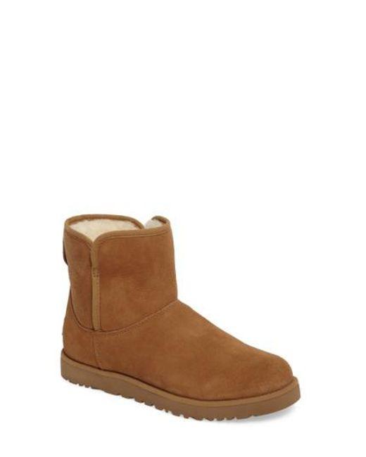 Ugg | Brown Ugg 'cory' Short Boot | Lyst