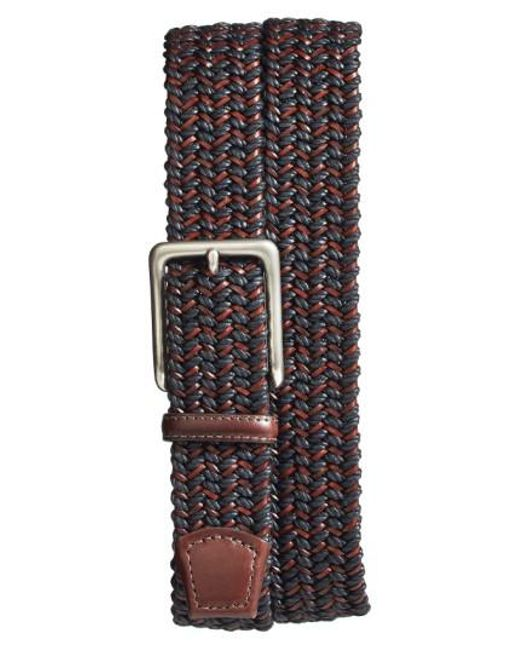 Torino Leather Company | Multicolor Woven & Leather Belt for Men | Lyst