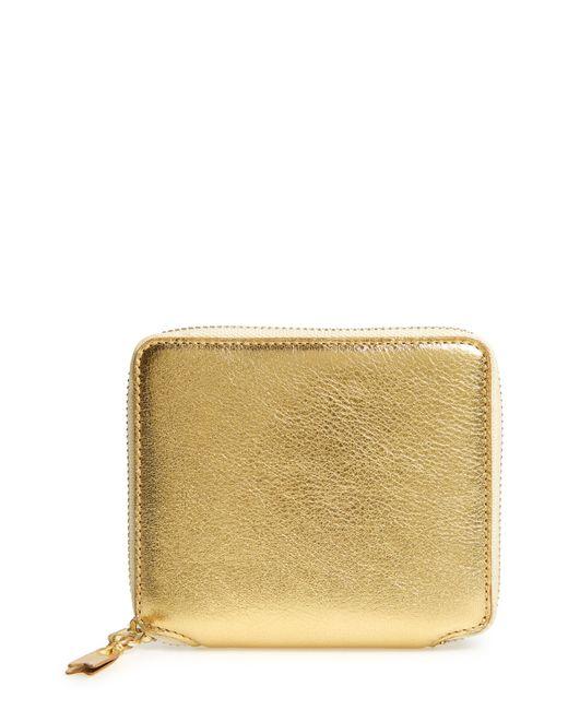 Comme des Garçons - Metallic Wallet - Metallic for Men - Lyst