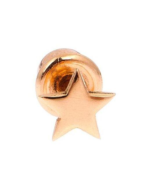 Kismet by Milka   Metallic Mini Star Earring   Lyst