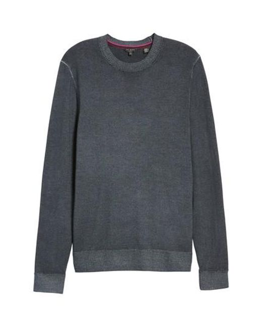 Ted Baker | Gray Abelone Wool Sweater for Men | Lyst