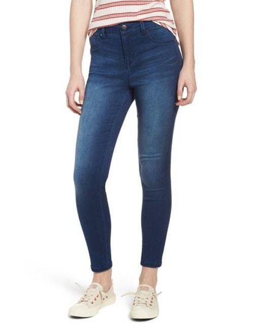 1822 Denim - Blue Butter High Waist Skinny Ankle Jeans - Lyst