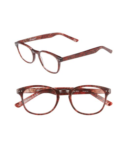 Corinne Mccormack - Multicolor 'lyla' 52mm Reading Glasses - Rust Red - Lyst