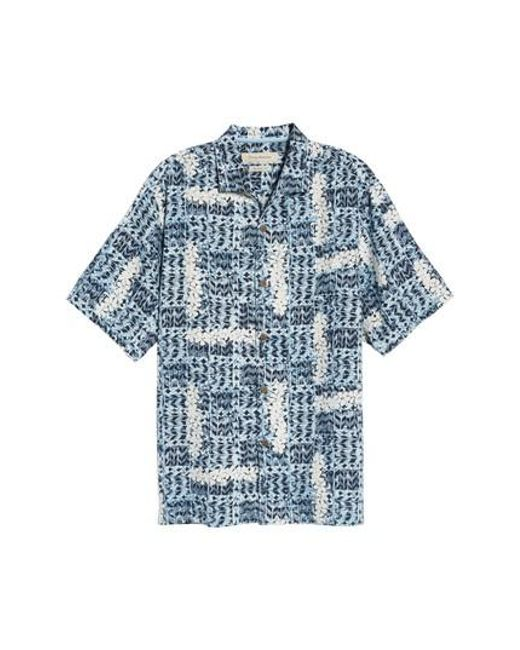 Tommy Bahama | Blue Olei Olei Silk Camp Shirt for Men | Lyst