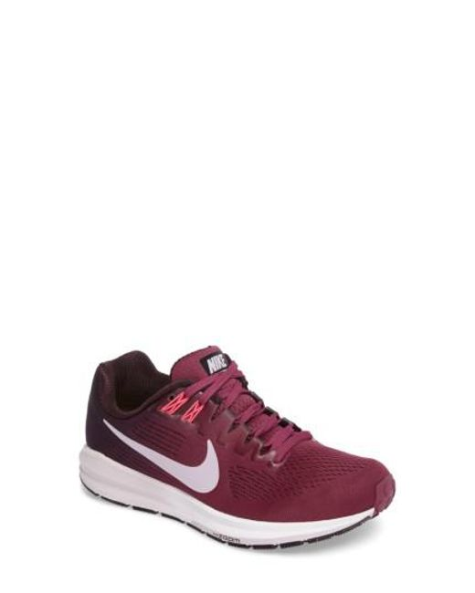 Nike | Purple Air Zoom Structure 21 Running Shoe for Men | Lyst