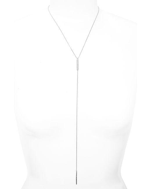 Bony Levy White Diamond Y-necklace (nordstrom Exclusive)
