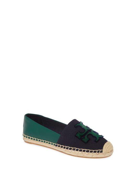 Tory Burch Brown Logo-appliqué Espadrilles