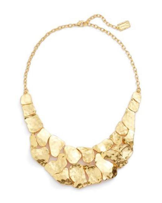Karine Sultan   Metallic Alice Statement Necklace   Lyst