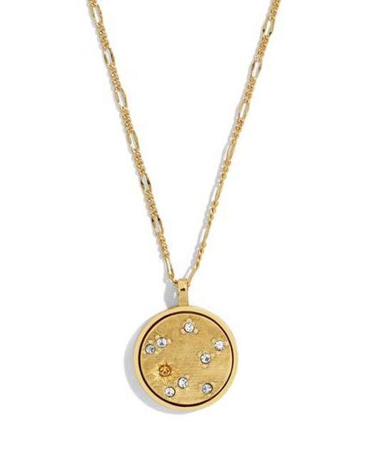 BaubleBar - Metallic Pendant Necklace - Lyst