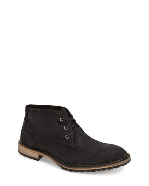 Andrew Marc - Black 'woodside' Chukka Boot for Men - Lyst