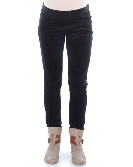 Everly Grey | Black 'hunter' Straight Leg Maternity Pants | Lyst