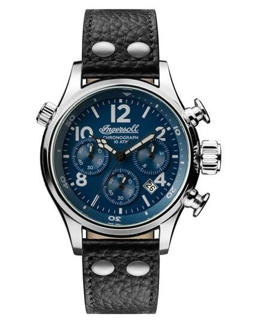 INGERSOLL WATCHES | Blue Ingersoll Chronograph Leather Strap Watch for Men | Lyst