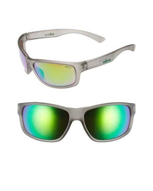 revo sunglasses a3ux  Revo  Gray 'baseliner' 61mm Polarized Sunglasses