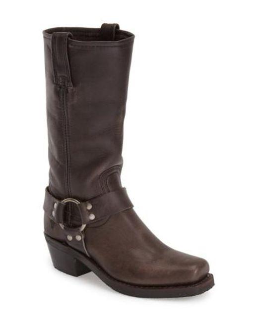 Frye   Gray 'Harness 12R' Boot   Lyst