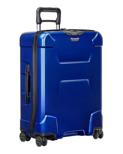 Briggs & Riley | Blue 'torq' Medium Wheeled Packing Case for Men | Lyst