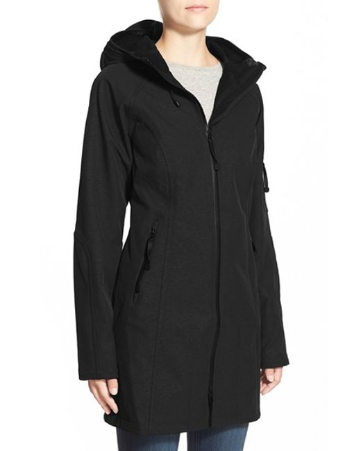 Ilse Jacobsen | Black Regular Fit Hooded Raincoat | Lyst