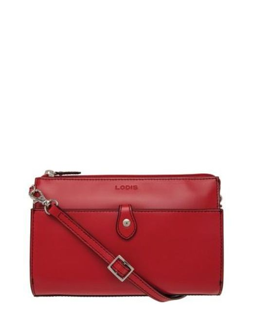 Lodis   Red Audrey Collection Vicky Leather Bag   Lyst
