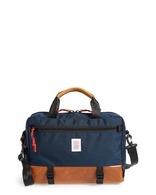 Topo Designs | Blue 'commuter' Briefcase for Men | Lyst