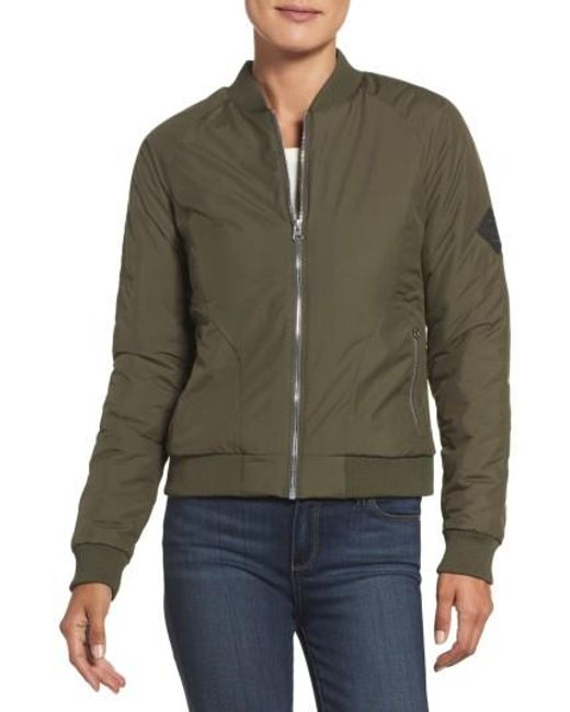 The North Face | Green 'rydell' Water Resistant Heatseeker(tm) Insulated Bomber Jacket | Lyst