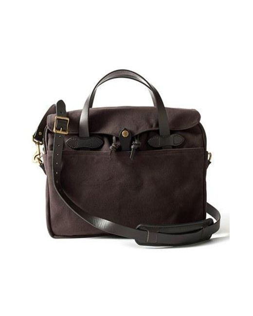 Filson | Brown Original Briefcase for Men | Lyst