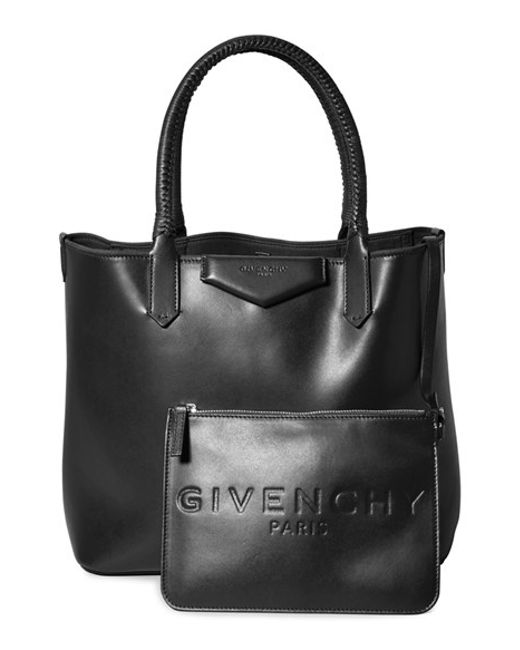 Givenchy | Black 'small Antigona' Leather Shopper | Lyst