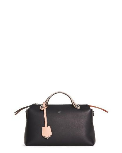 Fendi | Multicolor 'medium By The Way' Colorblock Leather Shoulder Bag | Lyst