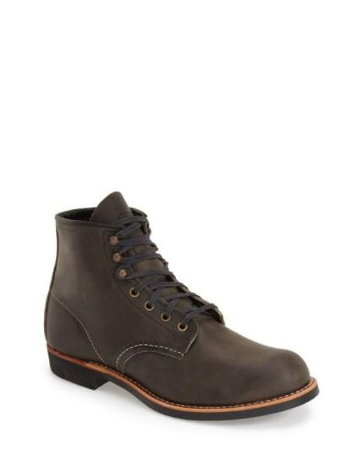 Red Wing   Gray Blacksmith Boot for Men   Lyst