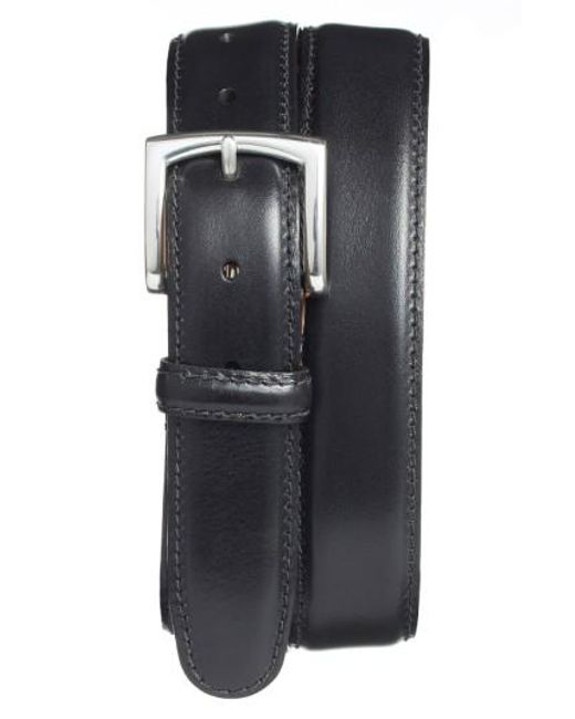 Bosca | Black Calfskin Leather Belt for Men | Lyst