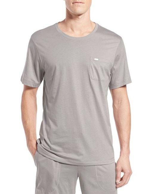 Daniel buchler crewneck peruvian pima cotton t shirt in for Peruvian cotton t shirts